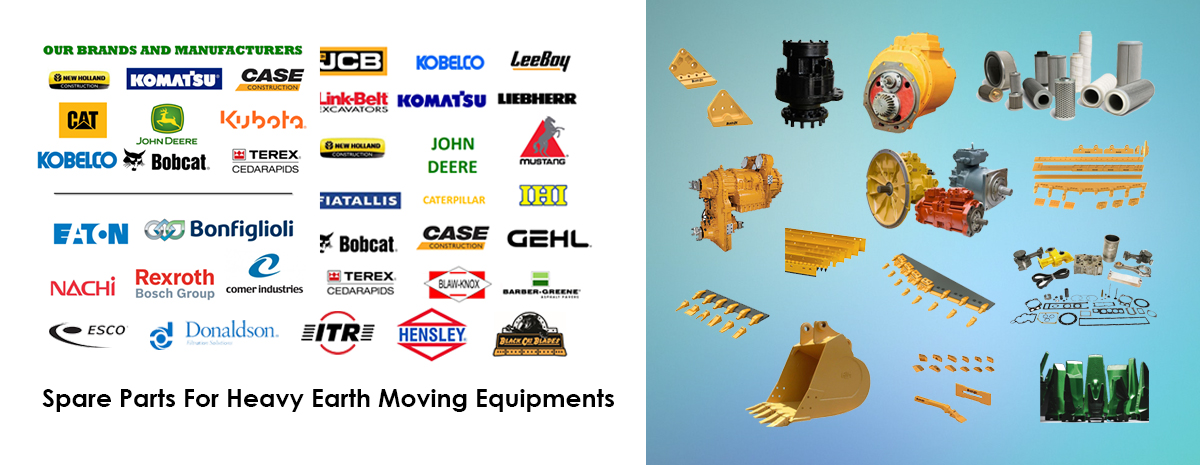 Spare Parts For Heavy Earth Moving Equipments